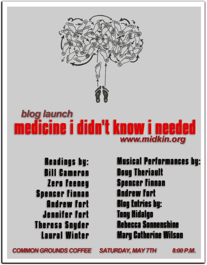 Medicine Blog Launch Poster