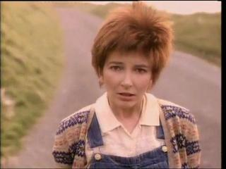 Kate Bush looking childish