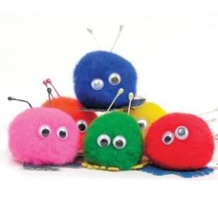 pom-poms-googly-eyes