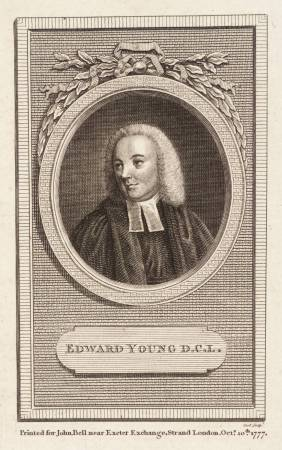 Edward Young D.C.L. 1777 by British (?) School null