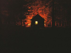 spooky cabin